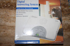 Conair White Digital Answering System w/ Tapeless Recording & Call Screening New