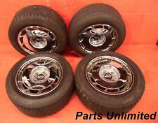 "84-96 Chevy Corvette C4 OEM wheels rims with tires STOCK factory 16"" Chrome x4"