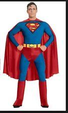 Adult Men's SUPERMAN Costume ~ L Large (Jacket 42-44) ~ NEW
