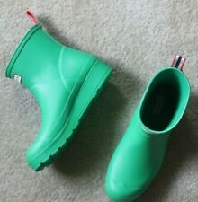 Hunter Women's Original Play Short Rain Boots  Size 9 green