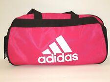b385beac8715 Adidas Diablo Bold Pink Black White Small Duffel Bag Gym Bag