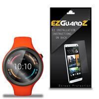 3X EZguardz NEW Screen Protector Shield For Motorola Moto 360 Sport 2014 45mm