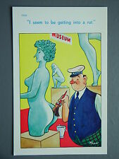 R&L Postcard: Brook Publishing  Trow 11939 Nude Statue Museum Cleaner