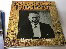 MERRILL E MOORE 20 golden pieces (best of) SIGNED BY ARTIST BDL 2011 SEE NOTE