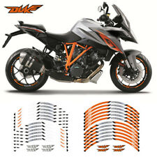 FIT FOR KTM DUKE MOTORCYCLE RIM STRIPES WHEEL DECALS TAPE STICKERS