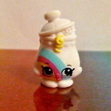 Shopkins Season 9 #19 LOTTIE LOLLY JAR White Rainbow Tribe Mint OOP