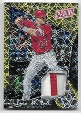 2018 Panini The National VIP Gold #34 Mike Trout 2 Color Patch Card #5/5