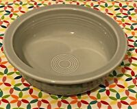Fiestaware Pearl Gray Large Bowl Fiesta Retired Gray Grey 40 oz Serving Bowl