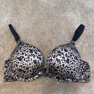 Maidenform Self 34A Bombshell Miraculous Plunge Bra Add 2 Cup Size Super Push Up