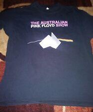 The Australian Pink Floyd Show Logo  T Shirt XL Retro Rare Vintage 2009 tour