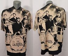 VTG The Beatles All Over Print T-Shirt 90's All Sport XL Made in USA Lennon Paul
