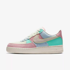 newest d1592 6d79a Nike MENS Air Force 1 07 QS Ice BlueSailHyper Turquoise EASTER