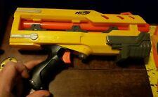 NERF Longshot Dart Gun YELLOW Front Barrel Extension Attachment Pistol Toy Works
