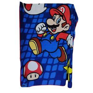 VTG Super Mario Bros. Smash Brother Room Comfy Stylish Fleece Throw Blanket