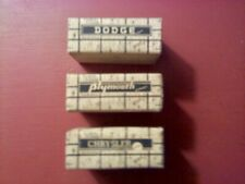 HO Scale Vintage Cardboard Car Shipping Crates - 3 items (advertising item)