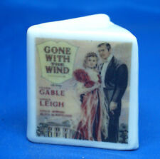 Birchcroft China Thimble -- Gone with the Wind Book Shape