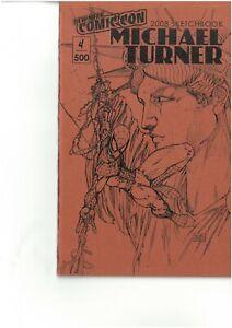 MICHAEL TURNER SPIDERMAN ASH SKETCHBOOK NEW YORK COMIC CON 2008 FREE UK POST NM