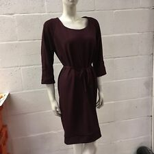 MAMA-LICIOUS WOMEN'S BURGUNDY MATERNITY DRESS XL NEW