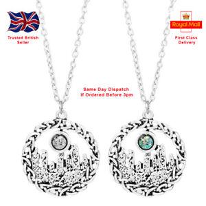 "Outlander Jewellery ""Creigh na Dun"" Stones Pendant Necklace Celtic Nordic"
