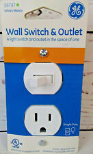 Wall Switch & Outlet GE  Single Pole 15A White