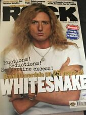 Classic Rock Magazine Whitesnake Metallica Ac/Dc April 2003 #052