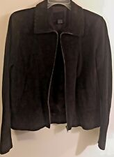 THE LIMITED, Women's Leather Jacket, Size Small, Dark Brown