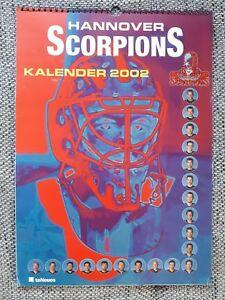 Kalender Hannover Scorpions, Spielerbilder, Fanartikel