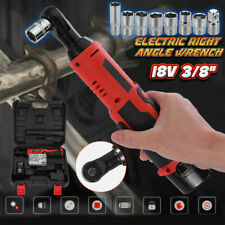 Cordless 3/8In Electric 18V Ratchet Wrench Tool Set w/ Battery & Charger Kit