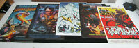 NEW MYSTERY SCIENCE THEATER 3000 RARE SET OF 5 POSTER/LITHO SET (HIGH QUALITY)