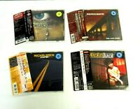 Nickelback CDs,Lot of 4,set [CD] Japan/Rock [OBI]