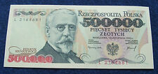POLAND BANKNOTE PRL 500000 ZLOTYCH 1993 YEAR SIENKIEWICZ HENRY UNC LOT SET 1 PC