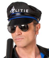 Spiegelnde Polizeibrille NEU - Zubehör Accessoire Karneval Fasching