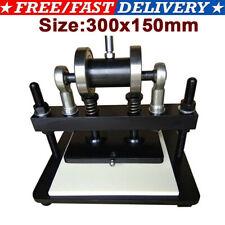 300*150mm Manual Leather Cutting Machine Die Cut Cutter Embossing Machines