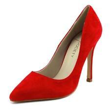 Zapatos de tacón de mujer de tacón alto (más que 7,5 cm) de color principal rojo talla 37