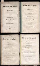 Teatro Don Fulano rien ne va plus! un Apropos Francoforte 1863
