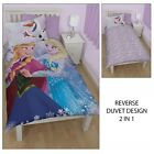 Disney Frozen 'Crystal' Single Bedding Duvet Quilt Cover Set Gift