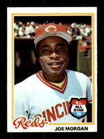 1978 Topps #300 Joe Morgan NM/NM+ Reds 518038