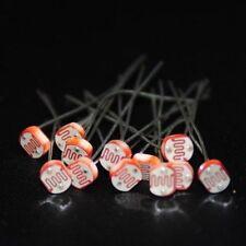 LDR 5mm Light Dependent Resistor PhotoResistor - 10Pc Bundle