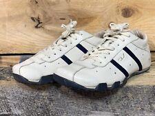 Diesel Evelyn Sneakers Beige Navy Blue Women's Size 8 US 38.5 EU