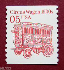Sc # 2452 ~ 5 cent Circus Wagon 1900s Issue (ba27)