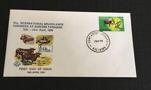 Australia * 1970  Excelsior Fdc X1th International Grasslands Congress