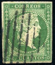 ESPAÑA 43 USADO  FILIGRANA LINEAS CRUZADAS