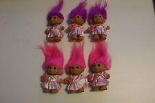 russ troll flower girl 4 inch lot of 6 new in bag
