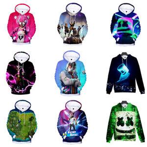Kids Boys Girls Sweatshirt 3D Digital Printing Jacket Cartoon Hoodies Tops Coat