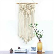 Hand Woven Macrame Wall Hanging Tapestry Bohemian Boho Wedding Home Decor Large