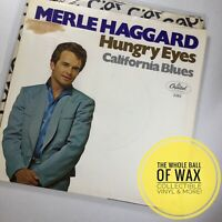 Merle Haggard - Hungry Eyes / California Blues 45 NEAR MINT 1969