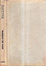 1964 JUSTINE MISFORTUNES VIRTUE BY THE MARQUIS DE SADE EROTICA SEX CLASSIC
