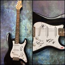 GFA Dave Mustaine, Ellefson & Marty Megadeth Firmado Eléctrico Guitarra M1 COA