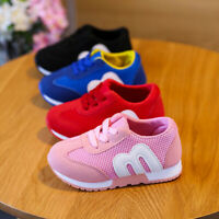 KIDS BABY INFANTS TRAINERS BOYS GIRLS SPORT RUNNING SHOES TODDLER SHOCK SIZE