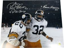 Rocky Bleier Franco Harris Autographed Pittsburgh Steelers 16x20 Photo - JSA COA